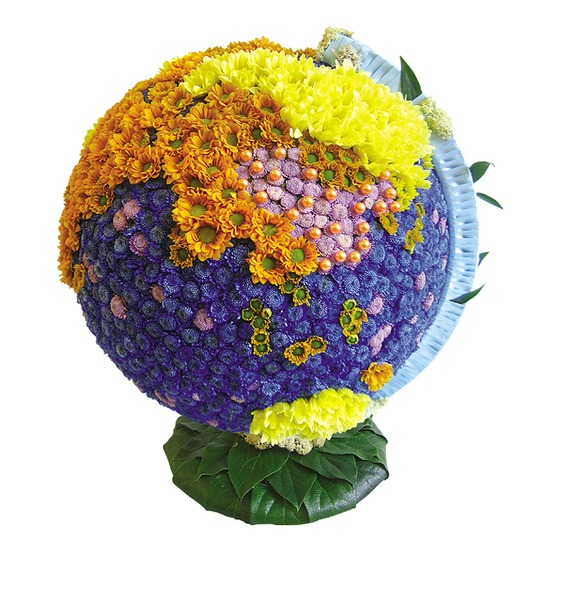 Композиция Глобус композиция подарок осени