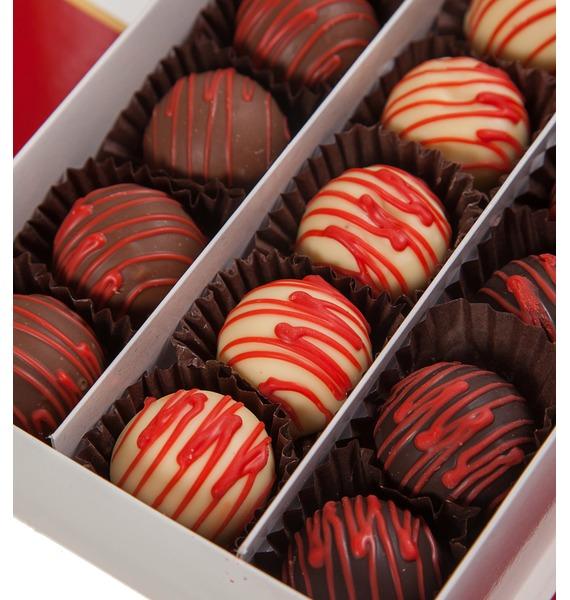Набор шоколадных конфет Фруктовый сундучок – фото № 2