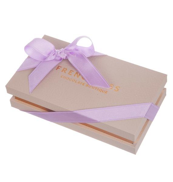 Конфеты ручной работы из бельгийского шоколада Аметист leather 8 – фото № 4