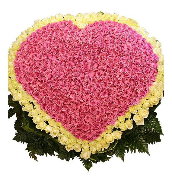 Композиция Импульс любви (501 роза) – фото № 2