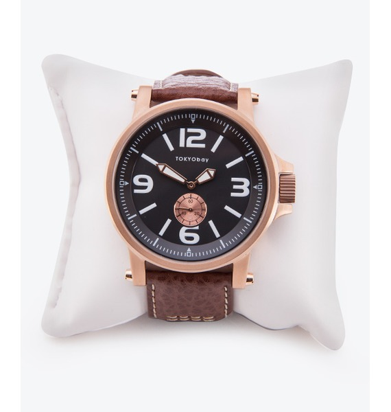 "Часы Tokyobay ""Agent Brown"" (США) tokyobay neo tl7305 pk"