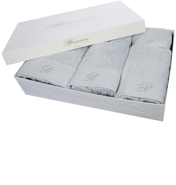 Подарочный набор из 5-ти полотенец+коврик для ванной Blumarine lacywear набор полотенец npk 5 nvs