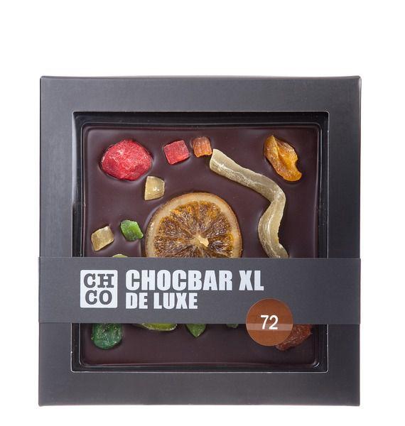 Темный шоколад CHCO CHOCBAR XL Фрукты молочный шоколад chco chocbar xl орехи