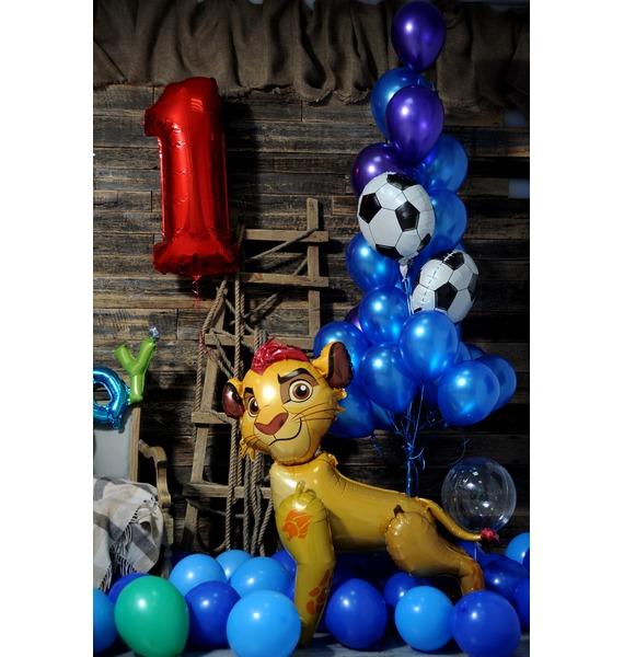 Оформление шарами Для принца! – фото № 2