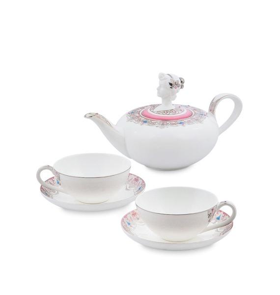 """Чайный набор на 2 персоны """"Примадонна"""" (Pavone)"""