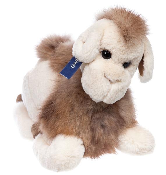 Игрушка из натурального меха Верблюд рюкзак заяц из натурального меха