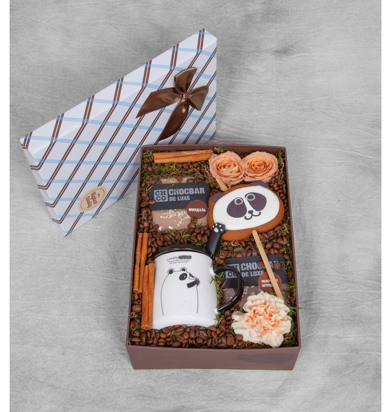 "Подарочная коробка ""Любимая панда"""