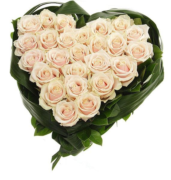 Композиция Нежно любимой (25 или 51 роза) – фото № 2
