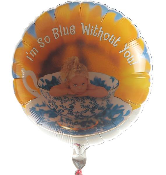 Воздушный шар I'm so blue without you