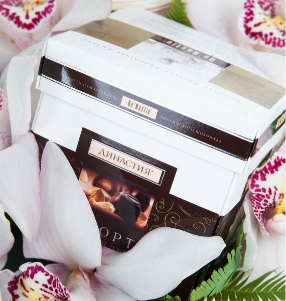 Подарочная корзина Дикая орхидея – фото № 4