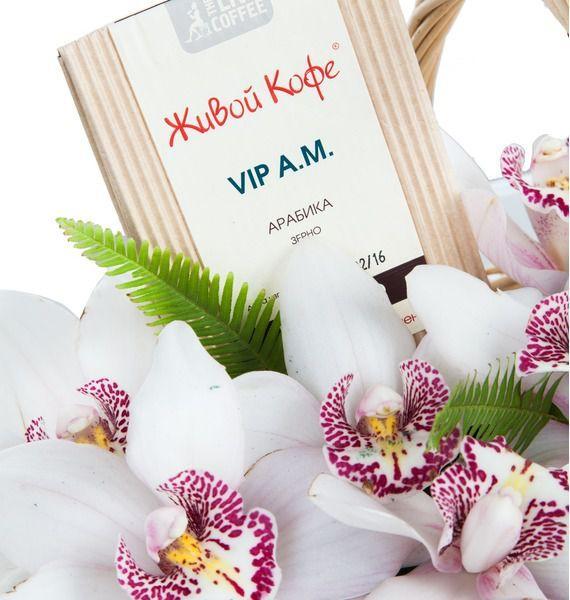 Подарочная корзина Дикая орхидея – фото № 3