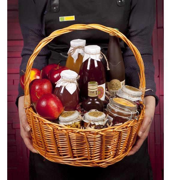Подарочная корзина Медовые яблоки