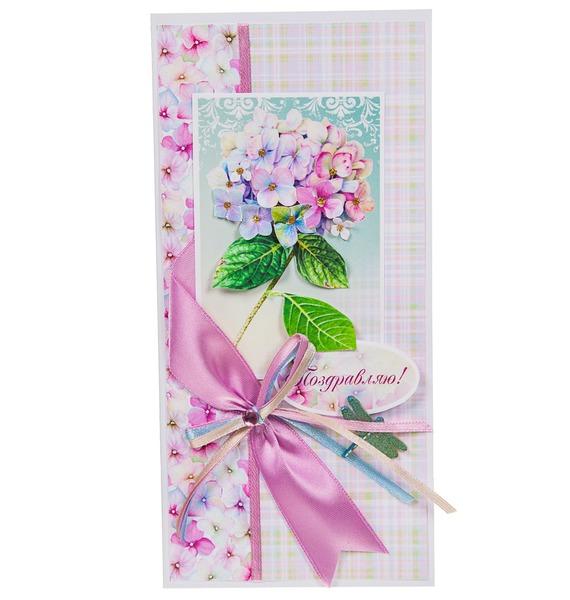 Открытка ручной работы Поздравляю! открытка ручной работы роза