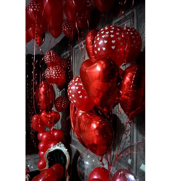 Оформление шарами в стиле Любовь! – фото № 5