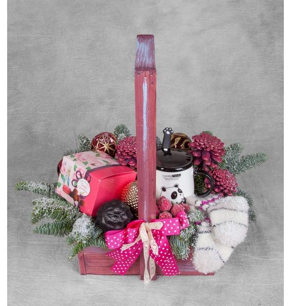 Подарочное кашпо Новогоднее желание green garden кашпо teak s