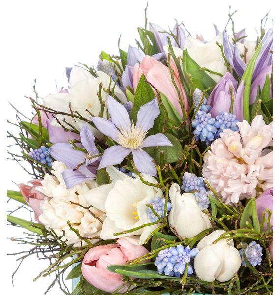 Композиция в вазе Весенние цветы – фото № 3