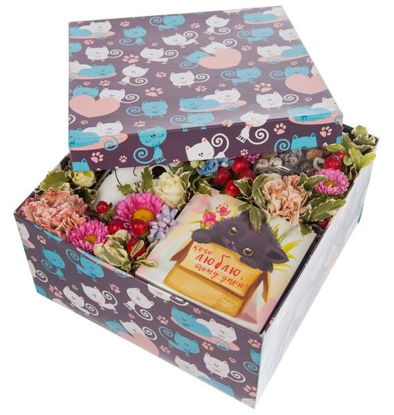 Подарочная коробка Любимой кошечке – фото № 5