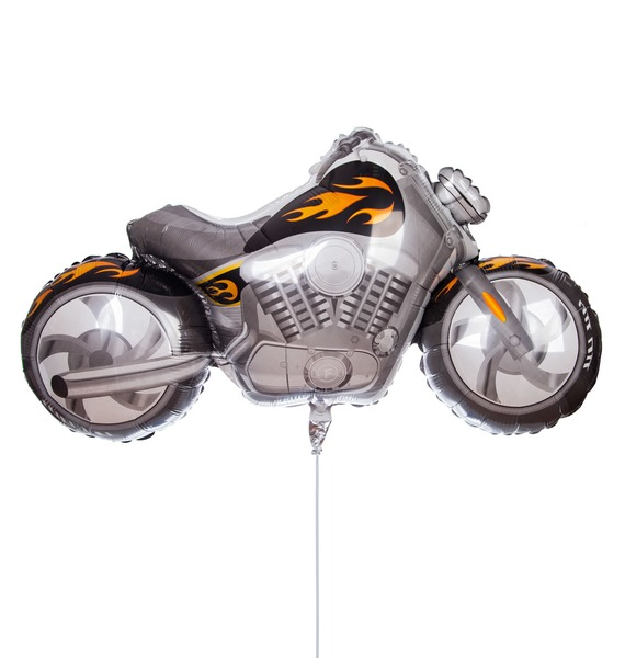 Воздушный шар Байк (114 см) ленточная шлифмашина makita 9910k