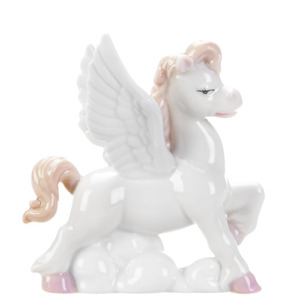 "Фигурка ""Лошадка-ангелочек"" (белая) (Pavone) фигурки pavone фигурка ангелочек pavone"
