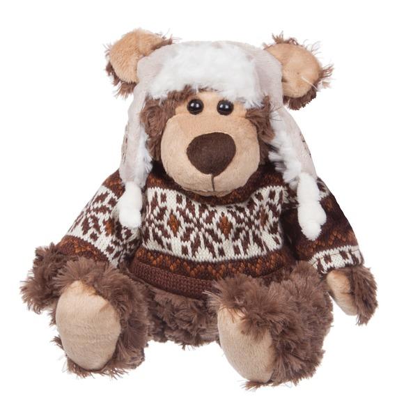 Фото - Мягкая игрушка Мишка Дастин (20 см) мягкая игрушка мамонт 20 см