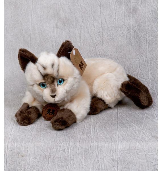 Мягкая игрушка Сиамский кот (25см) trousselier мягкая игрушка зайка с музыкой розовый 25см trousselier page 1