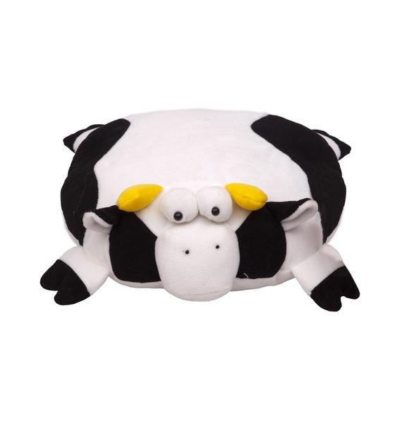 """Музыкальная игрушка-подушка """"Бурёнка"""" (35 см)"""