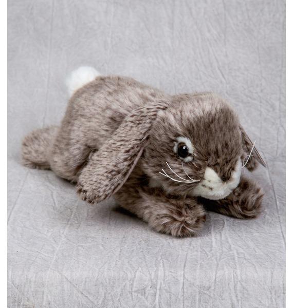 Мягкая игрушка Серый кролик (25 см) aurora 25 301 аврора кролик белый 25 см