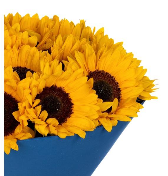 Букет Солнце в подарок – фото № 3