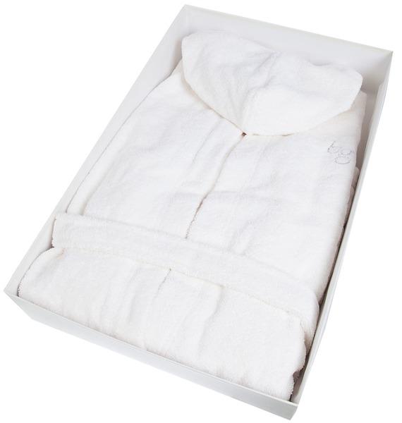 халаты Халат с воланами и капюшоном Blumarine