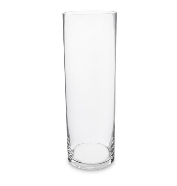 Ваза-цилиндр стеклянная 30 см ваза с рельефом 30 см 19118230 0157 rudolf kampf