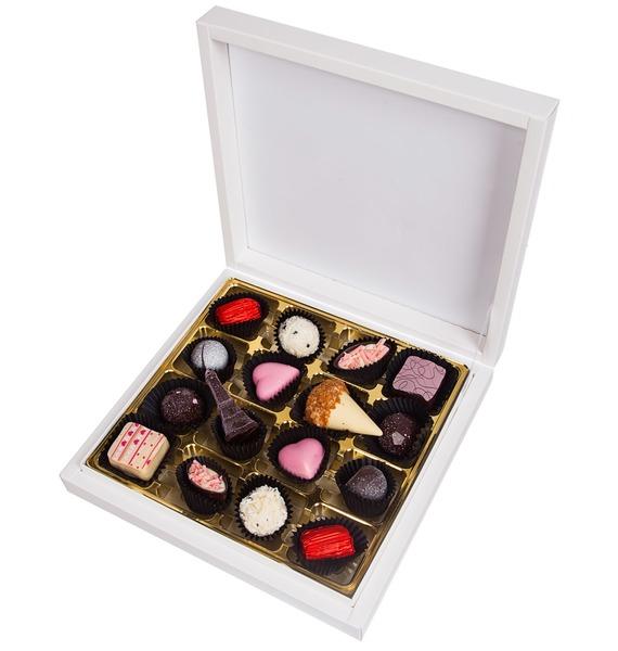 Конфеты ручной работы из бельгийского шоколада Плетение 16