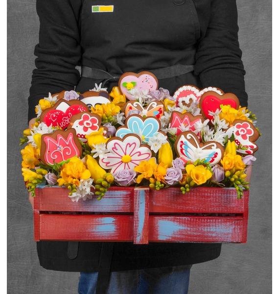 Подарочный набор Весна в душе жуковский пряник подарочный набор баттерфляй 5 шт