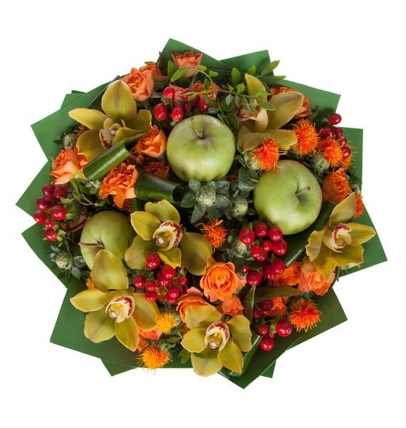 Букет Яблочный аромат – фото № 3