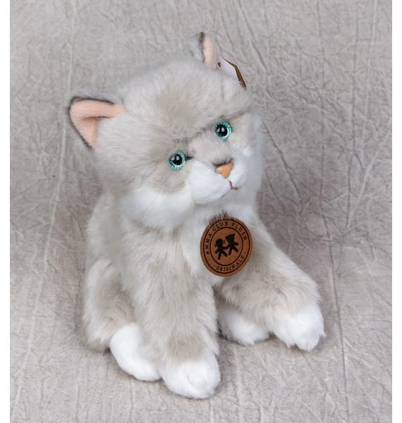 Мягкая игрушка Сибирский котенок (15см) игрушка арт 1805 36 мягкая игрушка котенок трехшерстный м