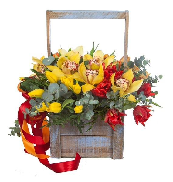 Композиция Бал орхидей – фото № 2