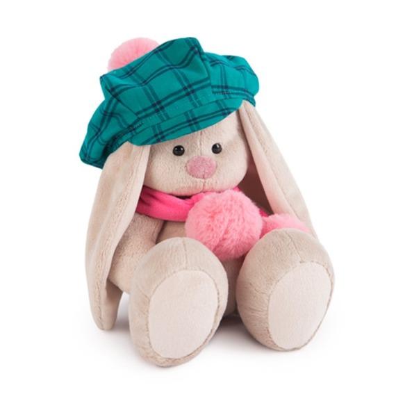 """Мягкая игрушка """"Зайка Ми в зеленой кепке и розовом шарфе"""" sima land мягкая игрушка зайка гаврош 30 см"""
