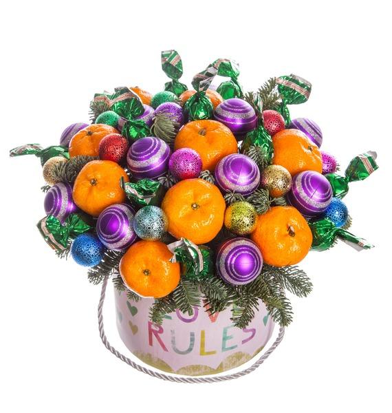Подарочная коробка Мандариновый пирог – фото № 5
