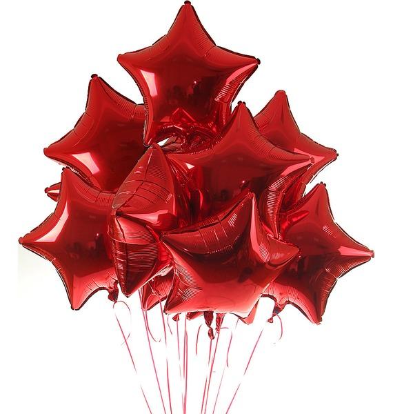 """Букет шаров """"Все звёзды для тебя"""" (11 или 21 шар)"""