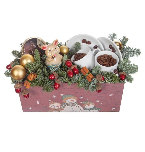Подарочная коробка Зимний кофе – фото № 5