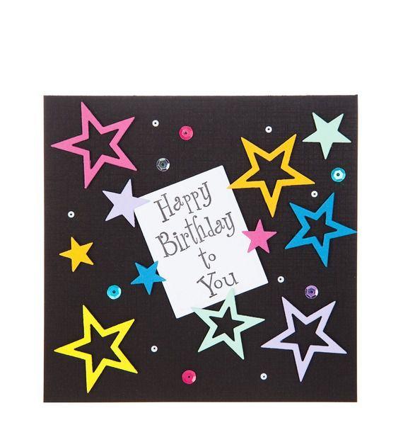 """Открытка ручной работы """"Happy Birthday to you"""""""