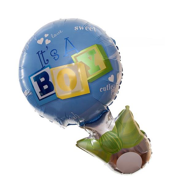 Воздушный шар Это Мальчик! воздушный шар qp 2 0431