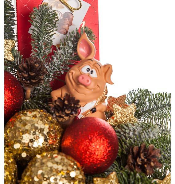Подарочная коробка Свинка в облаках – фото № 3