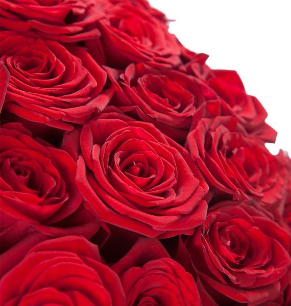 Букет из 101 розы Царский подарок – фото № 3