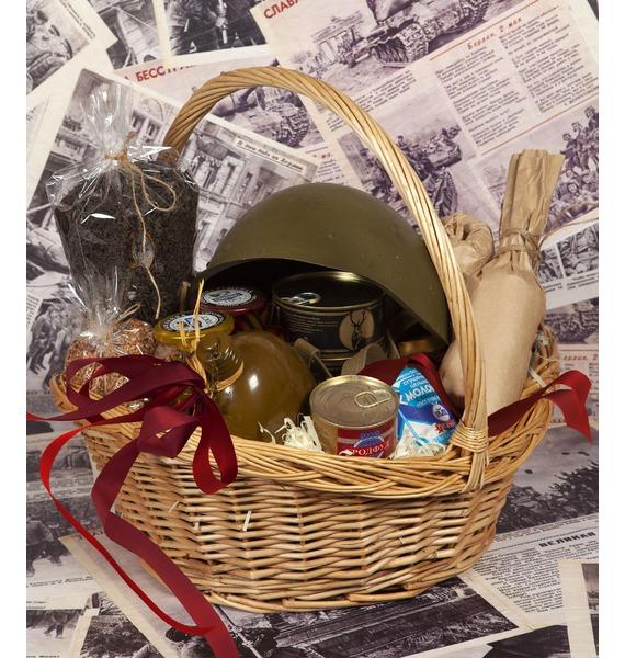 презент от айболита подарочная корзина с фруктами и сладостями Подарочная корзина Друг и товарищ