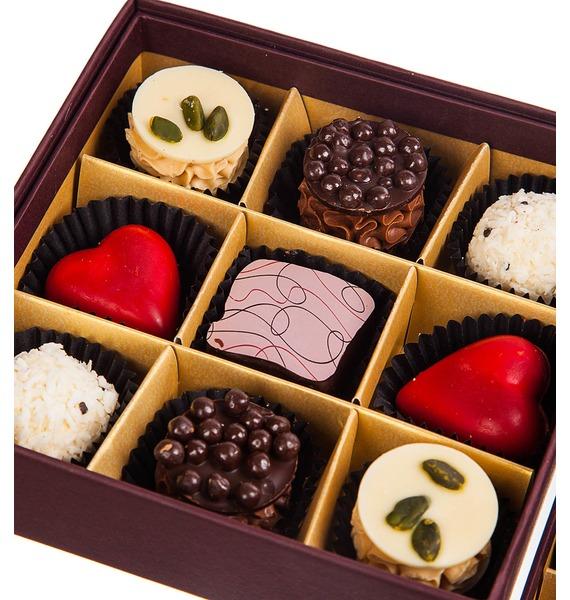 Конфеты ручной работы из бельгийского шоколада Рубин 18 – фото № 3