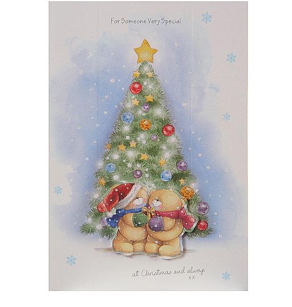 Открытка Кому-то особенному в Рождество в конверте (Hallmark, Англия) – фото № 1