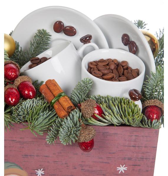 Подарочная коробка Зимний кофе – фото № 2