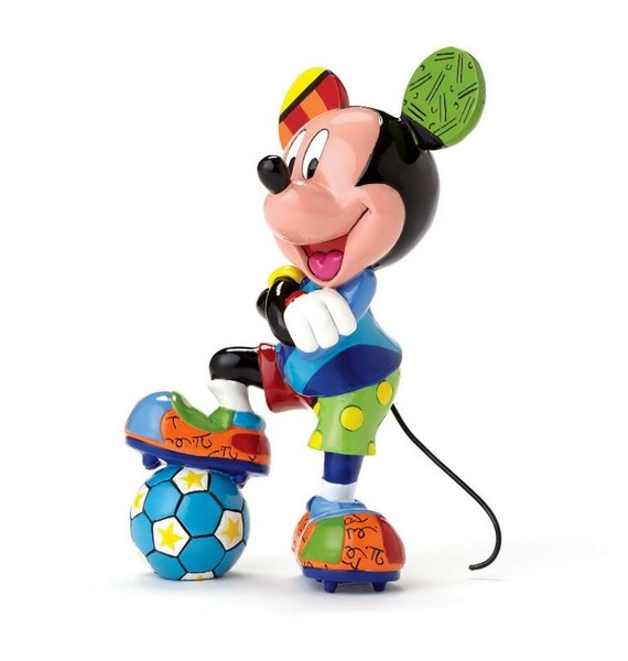 Фигурка Микки Маус футболист (Disney) фигурки disney traditions фигурка микки и минни маус с колокольчиками с рождеством