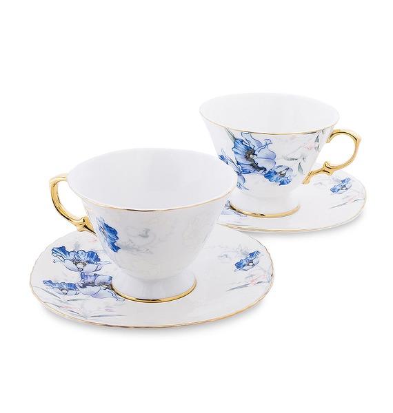 """Чайный набор на 2 персоны """"Фиор де Парадис"""" (Pavone) jp 53 2 фигурка выпускник pavone 1000258"""