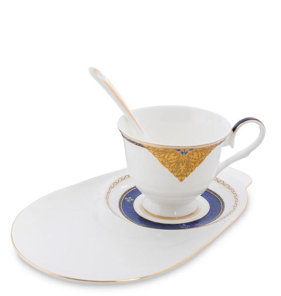 """Чайная пара """"Золотой Палермо"""" (Gold Palermo Pavone)"""